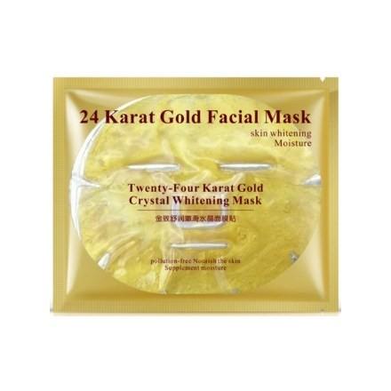 Купить Bioaqua, Гидрогелевая маска для лица 24 Кarat Gold, 60 г