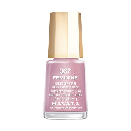 Купить Mavala, Лак для ногтей №367, Feminine, Фиолетовый
