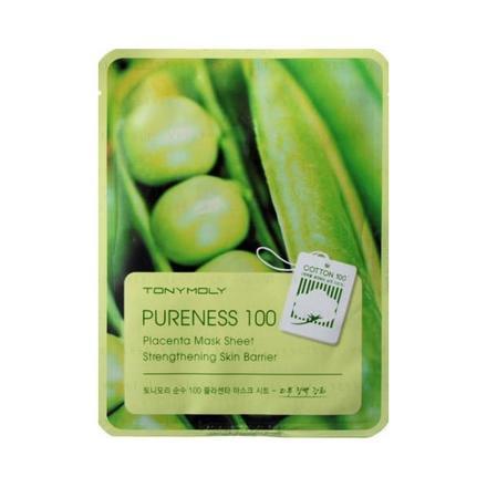 Tony Moly, Маска для лица Pureness 100 Placenta Mask Sheet кеды tony p tony p to041amblau9