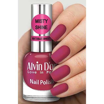 Купить Alvin D`or, Лак Misty shine №501, Alvin D'or, Бордовый