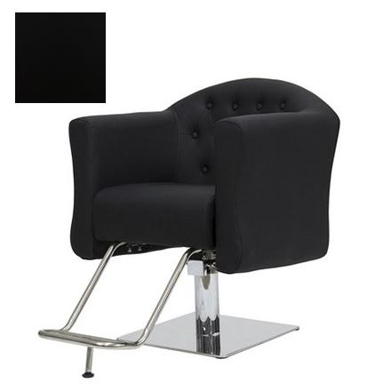 Купить Мэдисон, Кресло парикмахерское «МД-832» гидравлическое, хромированное, черное