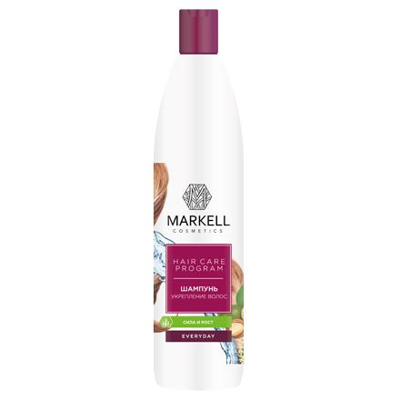 Markell, Шампунь для волос «Everyday», Укрепление, 500 мл кремы markell pt крем парафин для ног персик 100 мл