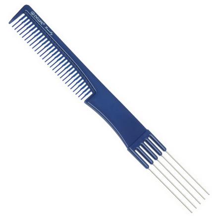 Купить Dewal, Расческа с металлическими зубцами, синяя, 19 см