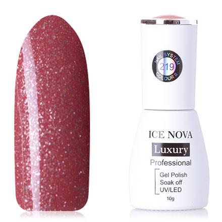 Купить Ice Nova, Гель-лак №219, яОранжевые и коралловые