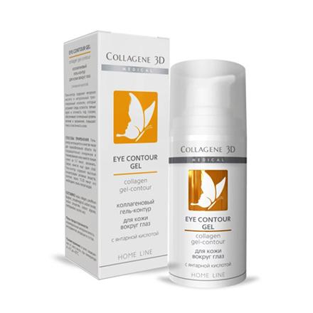 Купить Medical Collagen 3D, Гель-контур для кожи вокруг глаз, 15 мл, Medical Collagene 3D