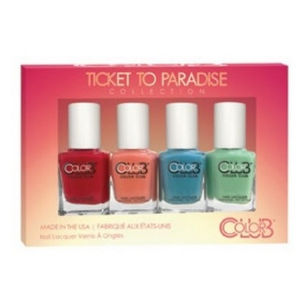 Color Club, Набор лаков Ticket to Paradise Mini Gift Set