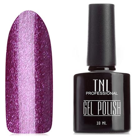 Купить TNL, Гель-лак №8, Фиолетовый с блестками, TNL Professional, Розовый
