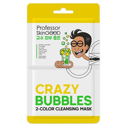 Professor SkinGOOD, Маска для лица Crazy Bubbles 2 Color, 1 шт.