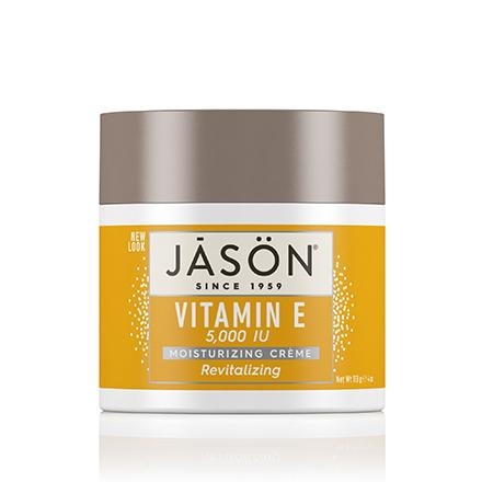 JASON, Крем для лица Vitamin Е 5000 IU, 113 г