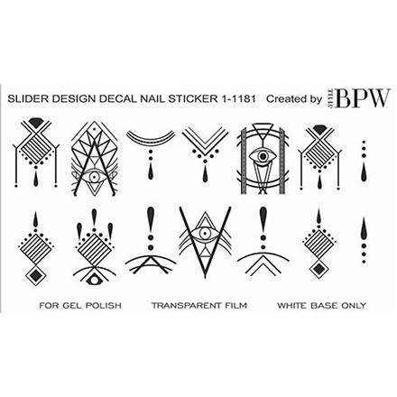 BPW.Style, Слайдер-дизайн «Узор графика» №1-1181