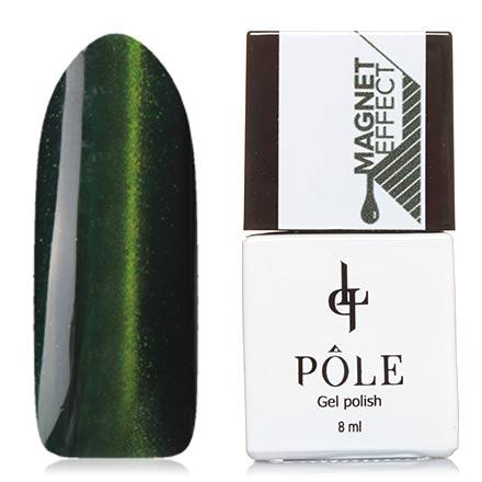 POLE, Гель-лак №4, Изумрудный зеленый
