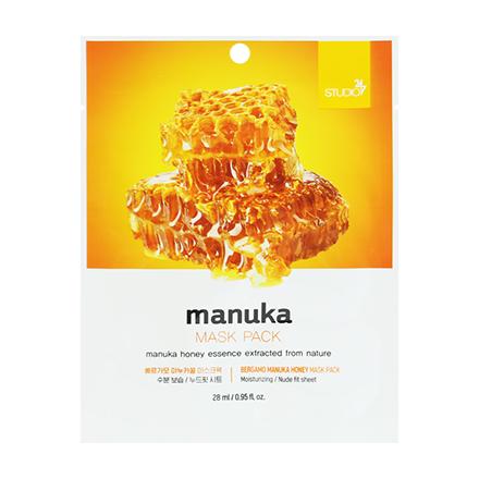 Bergamo, Маска Manuka, 28 млМаски<br>Тканевая маска для лица с экстрактом меда манука для увлажнения и питания сухой кожи.