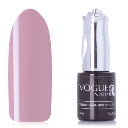 Купить Vogue Nails, База для гель-лака Rubber, pudra, 10 мл, Натуральный