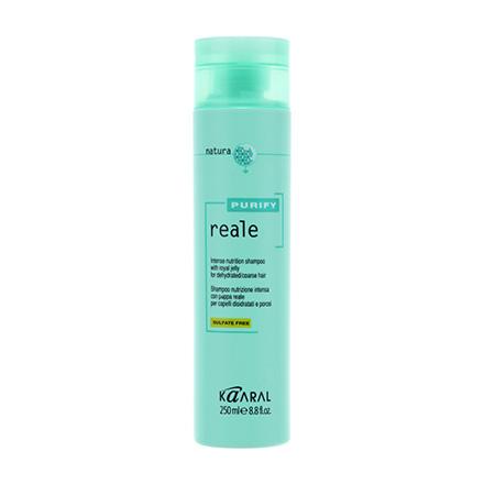 Kaaral, Шампунь Reale Intense Nutrition Purify для поврежденных волос, 250 мл kaaral purify reale intense nutrition shampoo восстанавливающий реале шампунь для поврежденных волос 250 мл