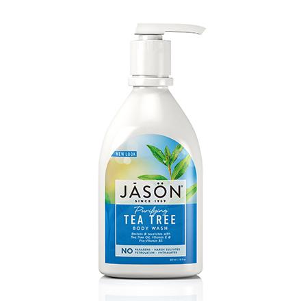 JASON, Гель для душа Purifying Tea Tree, 887 мл
