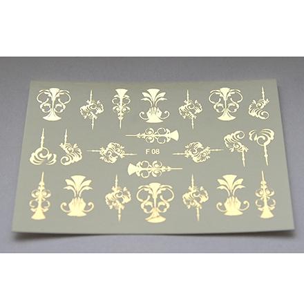 Freedecor, Слайдер-дизайн F8-01, золото freedecor слайдер дизайн f18 01 золото