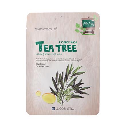 S+miracle, Маска для лица Tea Tree Essence, 25 г