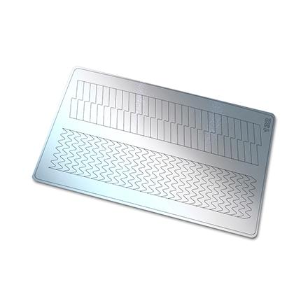 Купить Freedecor, Металлизированные наклейки №132, серебро