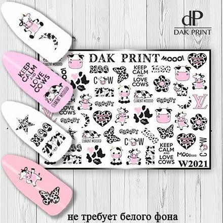 Купить Dak Print, Слайдер-дизайн №2021