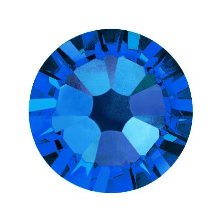 Купить Кристаллы Swarovski, Capri Blue 1, 8 мм (30 шт)