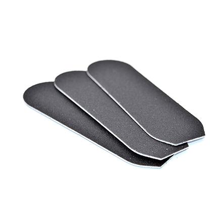 Klio Professional, Сменный файл для большой педикюрной пилки, на подложке, 100 грит klio professional металлическая терка основа педикюрная 13 5 см