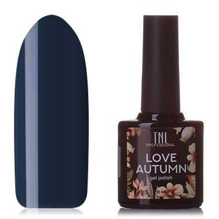 Купить TNL, Гель-лак Love Autumn №12, TNL Professional, Синий