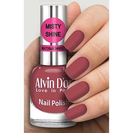 Купить Alvin D`or, Лак Misty shine №503, Alvin D'or, Бордовый