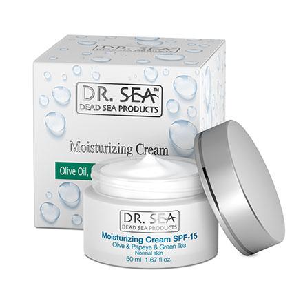 Купить DR.SEA, Крем для лица Olive Oil, Papaya & Green Tea, 50 мл