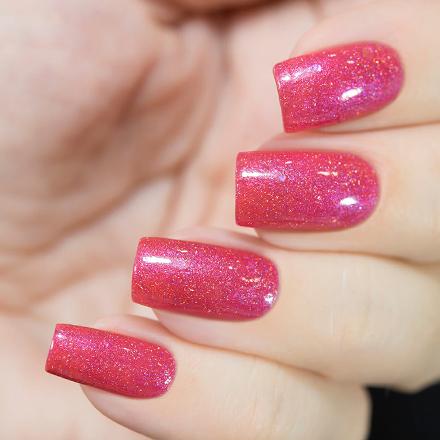 Купить Masura, Лак для ногтей «Золотая коллекция», Glowrious potion, 11 мл, Розовый