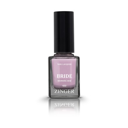 Zinger, Лак для ногтей Bride, цвет Morning dew