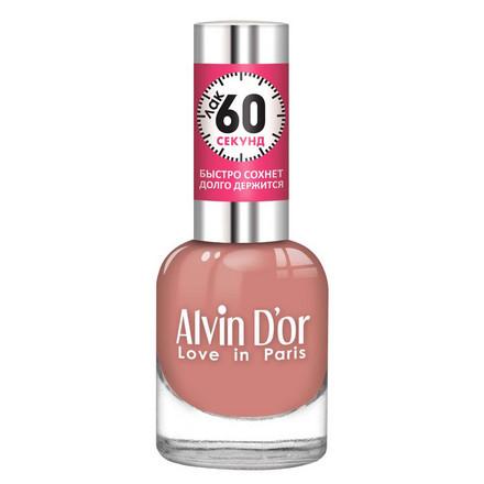 Купить Alvin D'or, Лак «60 секунд» №35, Розовый