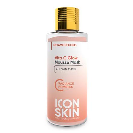 Icon Skin, Маска-мусс для лица Vita C Glow, 40 г