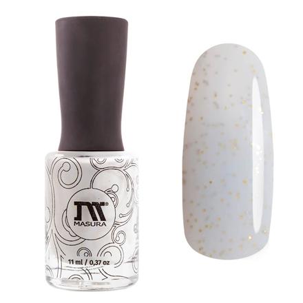 Купить Masura, Лак для ногтей «Золотая коллекция», Calypso, 11 мл, Черный