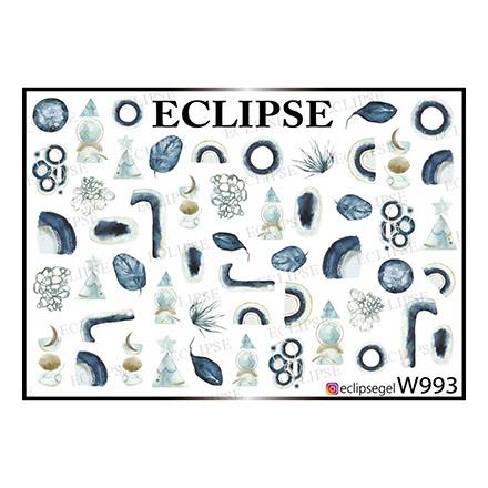 Купить Eclipse, Слайдер-дизайн для ногтей W №993