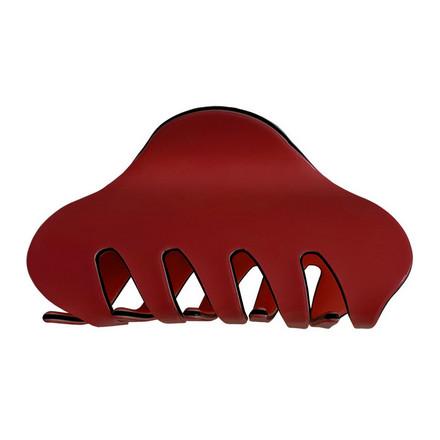 Купить Clarette, Заколка «Краб» большая, красная