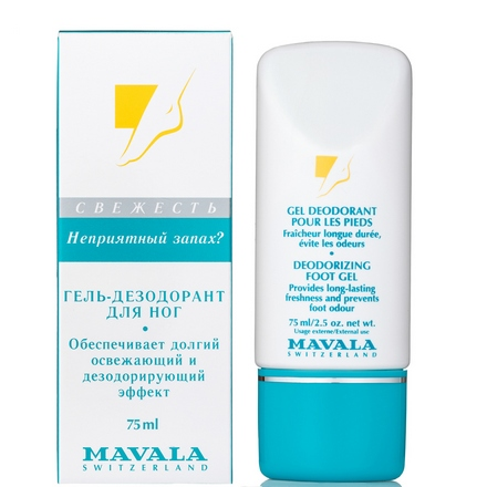 Mavala, Гель Deodorizing Foot, 75 мл