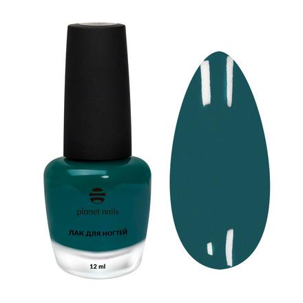 Planet Nails, Лак для ногтей №882 зеленого цвета