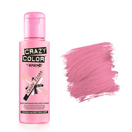 Crazy Color, Краска для волос №65, Candy Floss