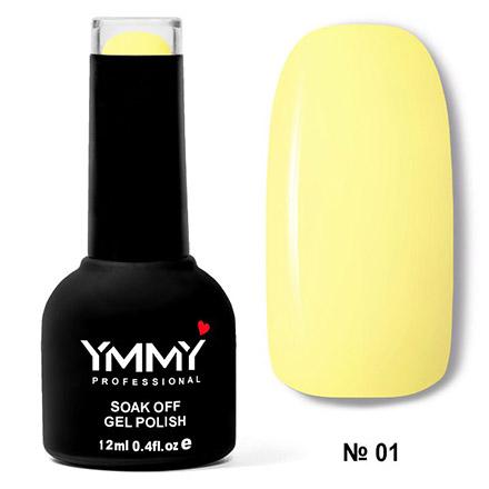 Купить YMMY Professional, Гель-лак «Оранжевый бум» №001, Желтый