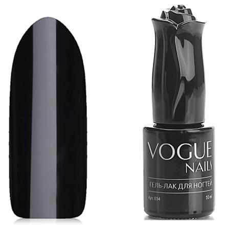 Vogue Nails, Гель-лак Черный властелин, 10 мл