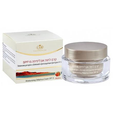 Купить Care & Beauty Line, Крем для лица Obliphica, SPF 15, 50 мл