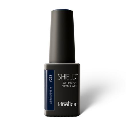 Купить Kinetics, Гель-лак Shield №253, 15 мл, Синий