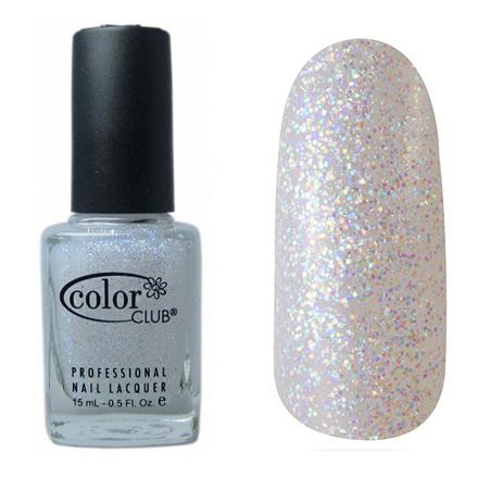 Color Club, цвет № GN07 Starry Temptress TopcoatColor Club<br>Профессиональный лак (15 ml) c прозрачными голографическими мелкими блестками на прозрачной основе, полупрозрачный<br><br>Объем мл: 15.00