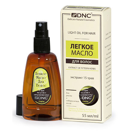 Купить DNC, Масло для волос «Экстракт 15 трав», 55 мл