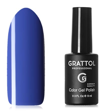 Grattol, Гель-лак Classic Collection №006, Cobalt фото