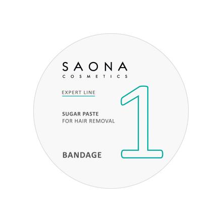 Saona Cosmetics, Сахарная паста для депиляции Bandage, 200 гПаста для шугаринга (сахарная)<br>Предназначена для бандажной техники депиляции. Подходит для зон: руки, ноги, живот, спина, лицо, подмышки.<br>