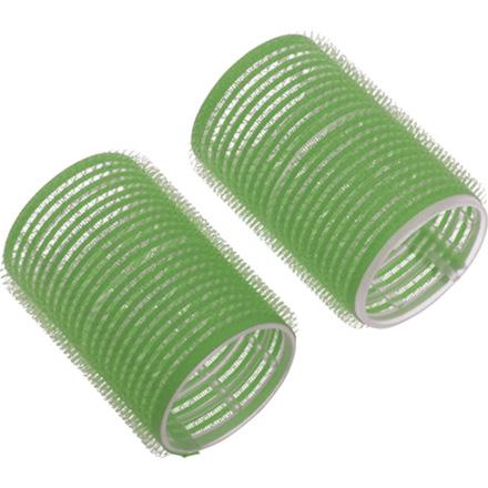 Dewal, Бигуди-липучки, зеленые, 20 мм фото