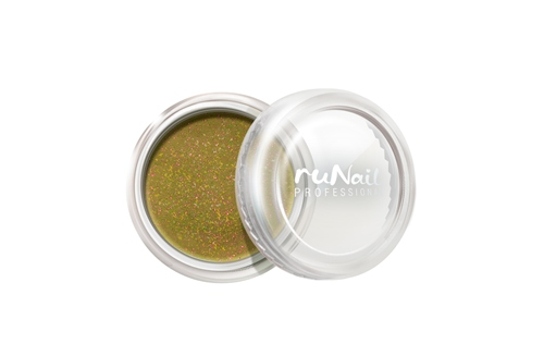 ruNail, дизайн для ногтей: пыль (золотой) runail дизайн для ногтей бульонки 0321 золотой