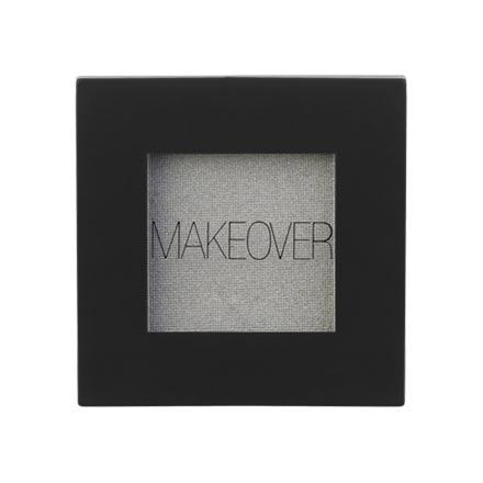 MAKEOVER PARIS, Тени для век Single Eyeshadow, Silver Shimmer