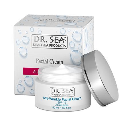 Купить DR.SEA, Крем для лица Anti-Wrinkle, 50 мл